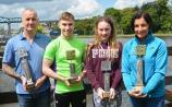Kildare swimmer (12) wins trophy at 2.7k Boyne Swim