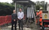 New bus shelter installed at St. Wolstan's School
