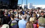 WATCH  Carlow's Derek Ryan causes chaos at main stage of the Ploughing as crowds go wild
