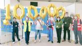 Punchestown Centre reaches 100,000th vaccine milestone