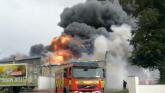 Devastating fire engulfs plant of award winning midlands yogurt producer