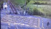 WATCH: Terrifying footage of level crossing accidents released
