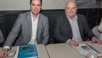 Attendance grill election candidates at Newbridge meeting