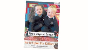 DON'T MISS OUT! First Days at School Junior Infants picture supplement in this week's Leinster Leader
