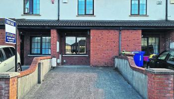 KILDARE PROPERTY WATCH: Two-bedroom terraced home in Athy's Coneyboro