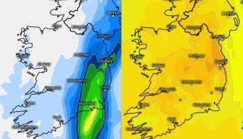 IRELAND WEATHER: Weather forecast for Ireland for the coming days from Met Eireann