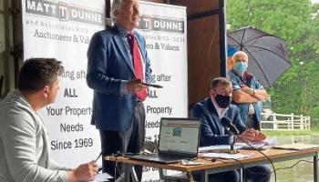 Auction results: location the key for midlands land sale
