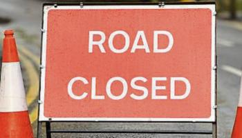 The soon-to-be closed road is located in Newbridge