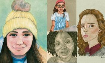 Four young Kildare artists honoured in Texaco Children's Art Competition