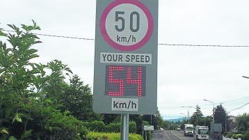 Nine motorists broke speed limit during Garda checks in Kilcock area