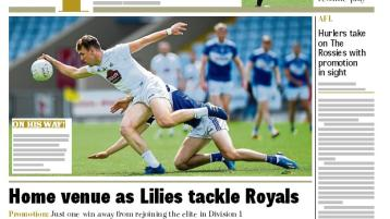 In this week's action packed Leinster Leader Sport