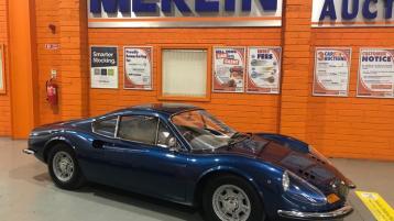 Classic Ferrari car to go under the hammer in Naas
