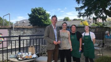 Ryan Tubridy visits Naas today