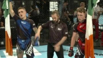 Gold medal for SBG Naas teen at youth MMA World Championships