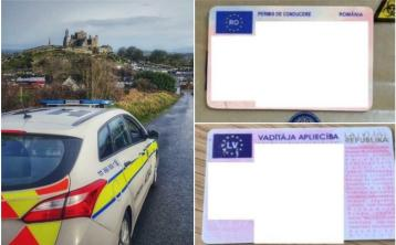Got ya! Gardaí seize two suspected fraudulent driving licences from motorists