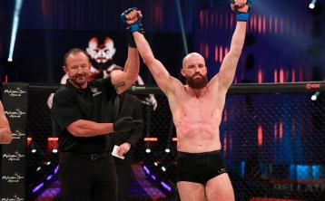 SBG Naas' Peter Queally scores stunning win in Bellator 258 MMA bout