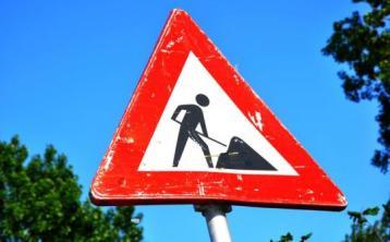 Leixlip Main St traffic works overnight this week