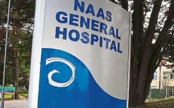 There are no patients on trolleys today at Naas Hospital