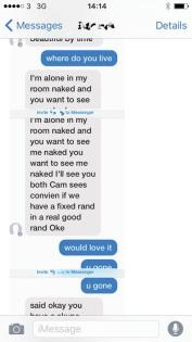 Real sex scam
