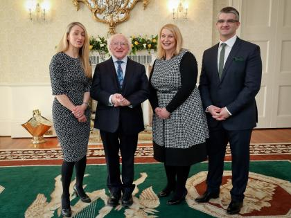 They wouldnt have been happy apart - Irish couple married
