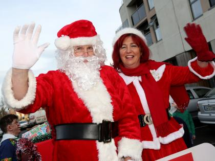 The Christmas Clause.Photo Gallery Santa And The Christmas Parade In Sallins