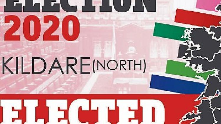 Last candidates elected in Kildare North