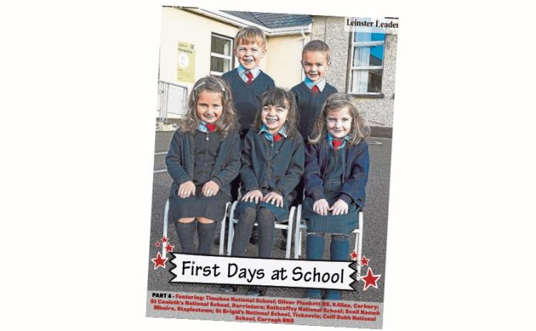 Calling Kildare Junior Infants parents - don't miss Part 4 of our First Days at School supplement