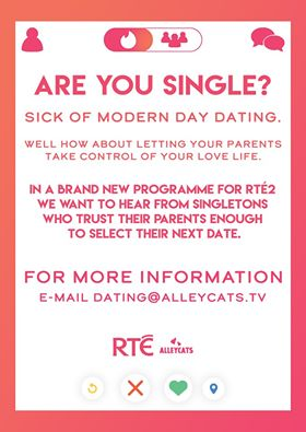 New dating show on RTE looking for Kildare singletons