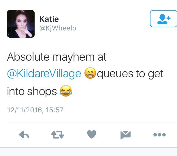 Queues in Kildare Village: Is it Black Friday already