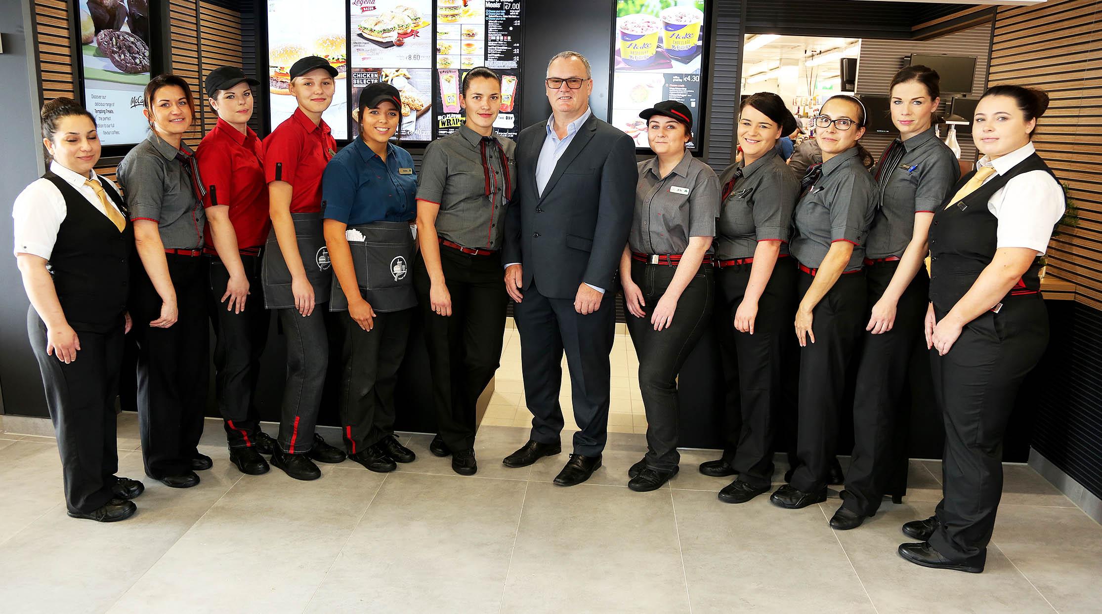 Manager catalog mcdonalds uniform What is